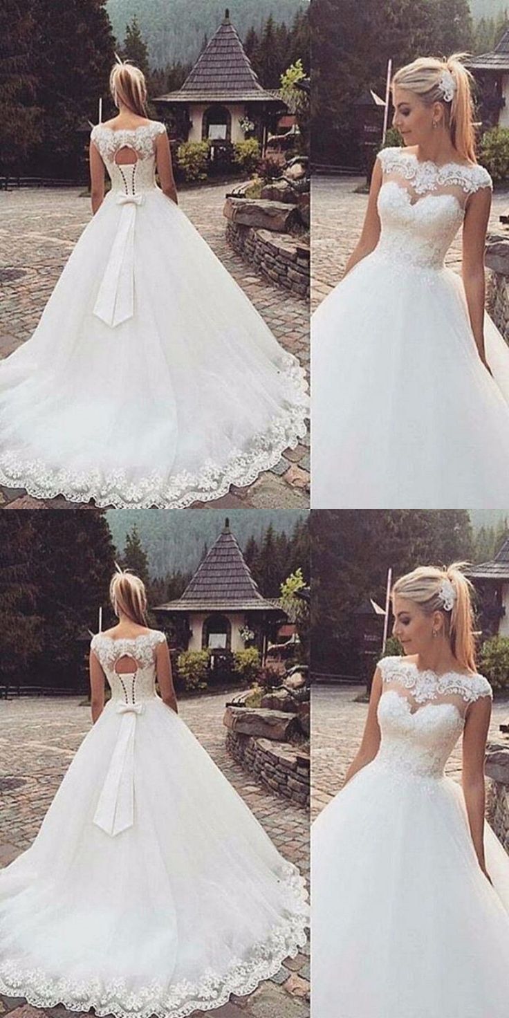 Wedding Dresses: New White/Ivory Wedding Dress Bridal Gown Custom Size 6-8-10-12-14-16 18++ BUY IT NOW ONLY: $141.55