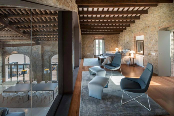 Beautiful farmhouse refurbishment in Girona designed by Gloria Duran Torrellas - CAANdesign | Architecture and home design blog