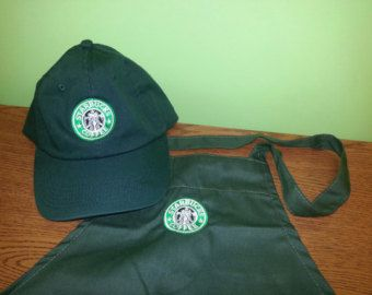 Halloween costume New Logo Starbucks barista by offpriceapparel