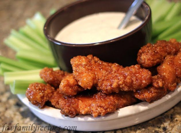 Our Version of Winger's Sticky Fingers and Freakin' Amazing Sauce