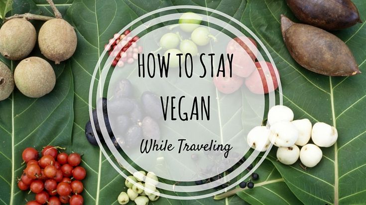 How to Stay Vegan While Traveling