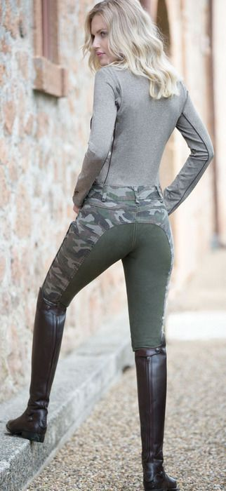 www.horsealot.com, the equestrian social network for riders & horse lovers | Equestrian Fashion : army look. horse riding boots