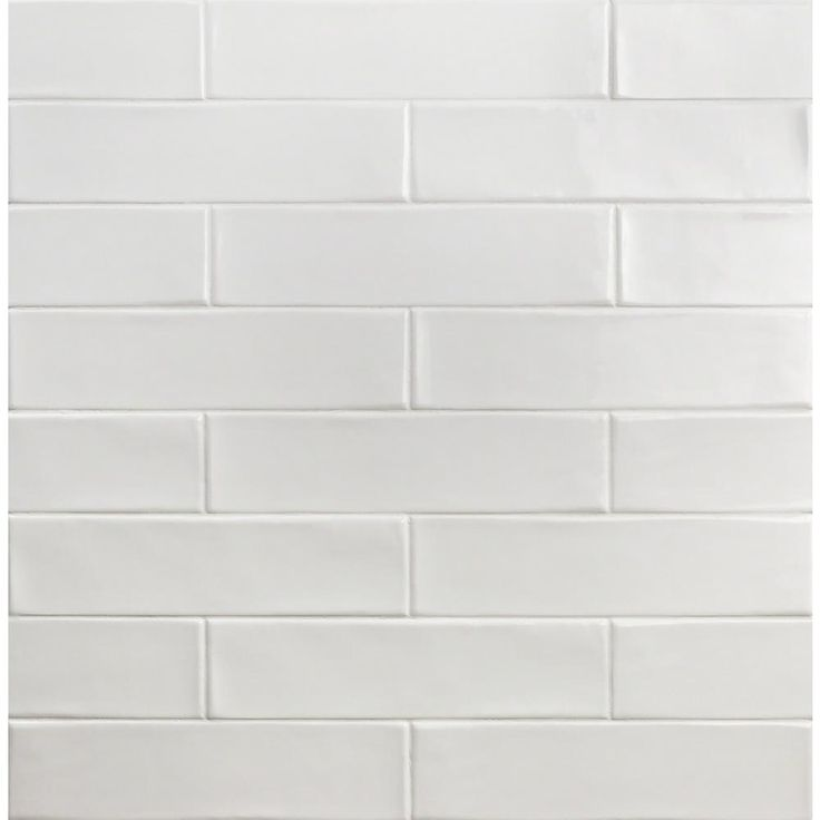 Ivy Hill Tile Birmingham Bianco 3 in. x 12 in. 8mm Polished Ceramic Subway Tile (5.38 sq. ft. / box)-EXT3RD102134