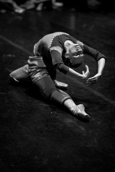 "Irina Kolesnikova as Nikiya, rehearsal for ""La bayadère"""