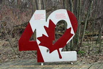 CHECK--Point Pelee 42nd parallel, Point Pelee Provincial Park, Leamington, ON. Famous for being the southernmost tip of Canada's mainland.