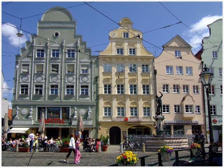 The city of Augsburg is known for its historic center and belongs to the Romantic Road.  My husband and I both love history; how romantic it would be to experience it first hand!