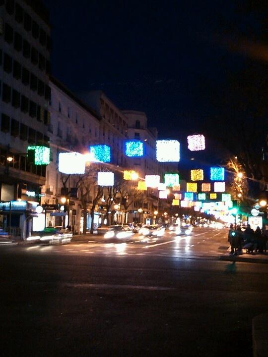 Luces de Navidad. Madrid