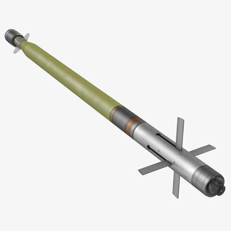 Fim 92 Stinger Missile 3D Model - 3D Model