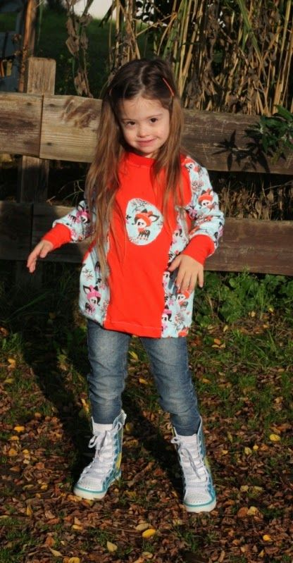 Jolina my little Model with Down Syndrome