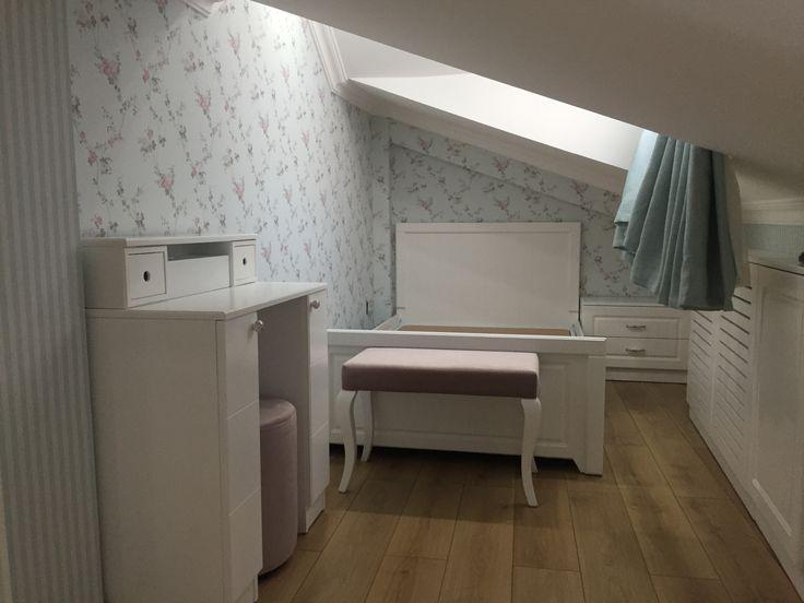 Genç odası # çatı odası # modern # şık