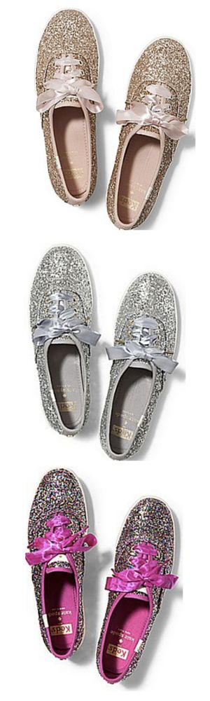 In Stock - Gorgeous glittery keds for kate spade http://rstyle.me/ad/u9d5snyg6