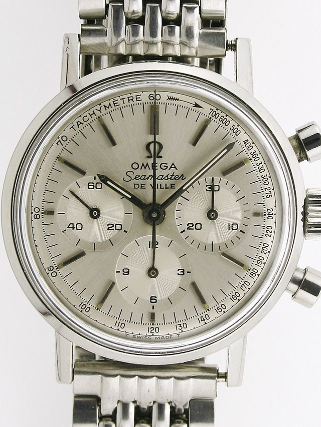 "Omega model 321 chronograph Seamaster ""Deauville"". Asking price: $3499"