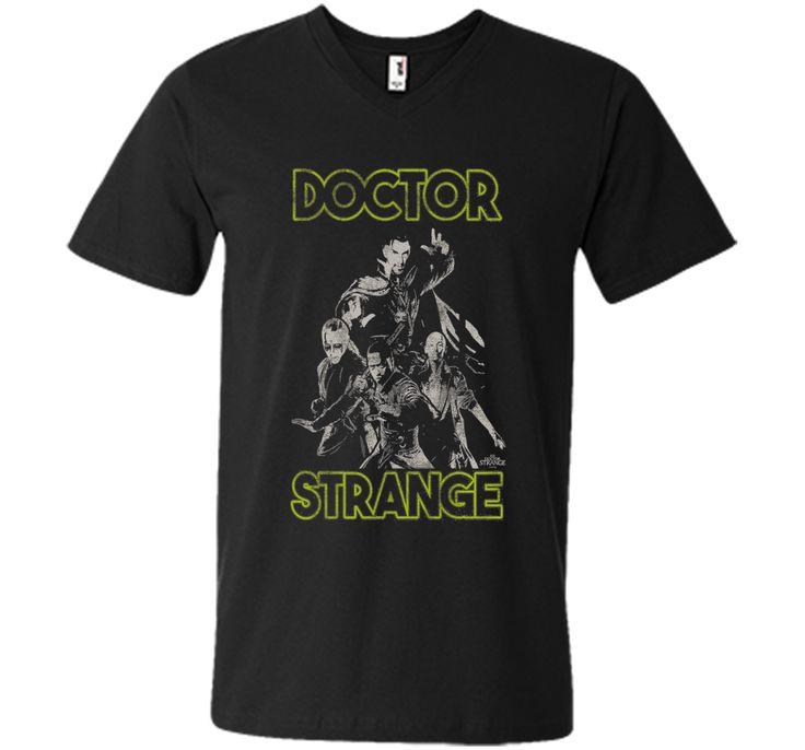 Marvel Master Sorcerers Doctor Strange Movie Graphic T-Shirt