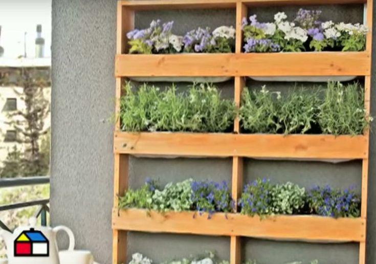 20 manualidades para el balc n terraza o jard n peque o - Ideas para jardineria ...
