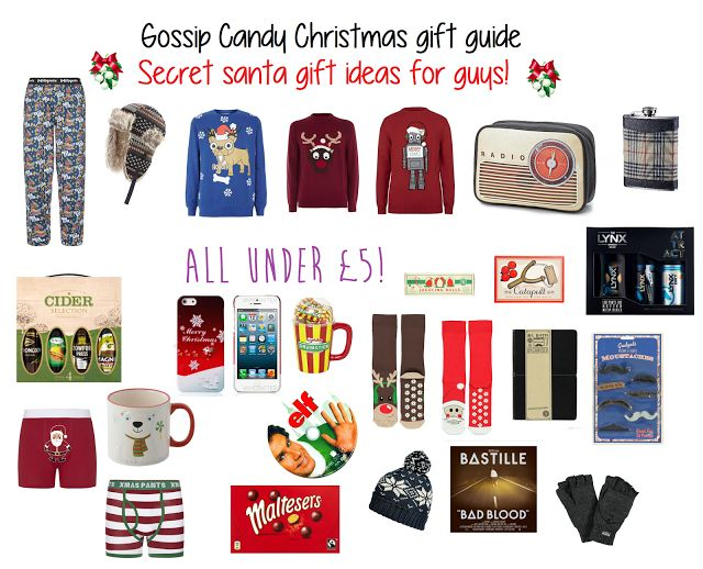 Secret Santa Gift Ideas For Coworkers Under 5   Giftsite.co