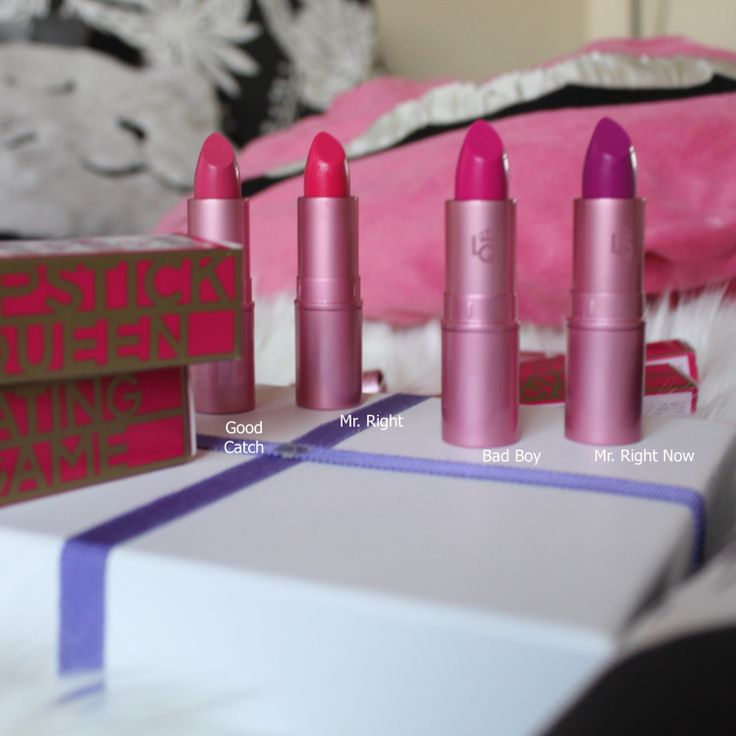 Hiya Beauties ! Most of You guys know how much of a LIPSTICK OBSESSED WOMAN I am !!!! So February 1st LIPSTICK QUEEN is launching their Dating Game collection ….. WHAT IT IS A four-piece col…