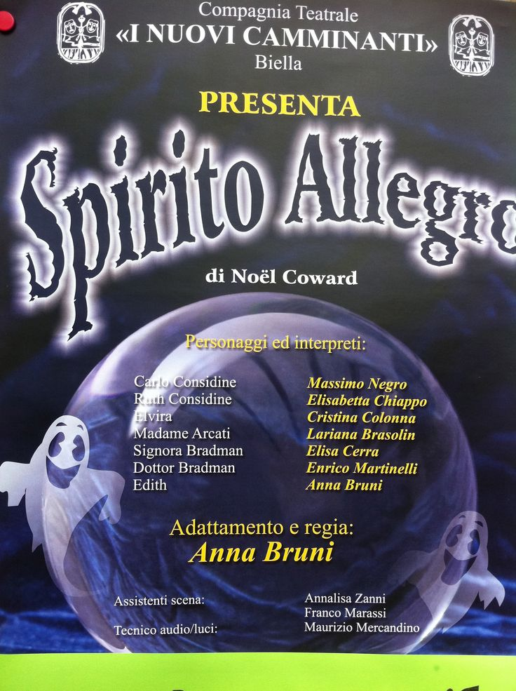 Spirito allegro, Coward, Gaby 2011
