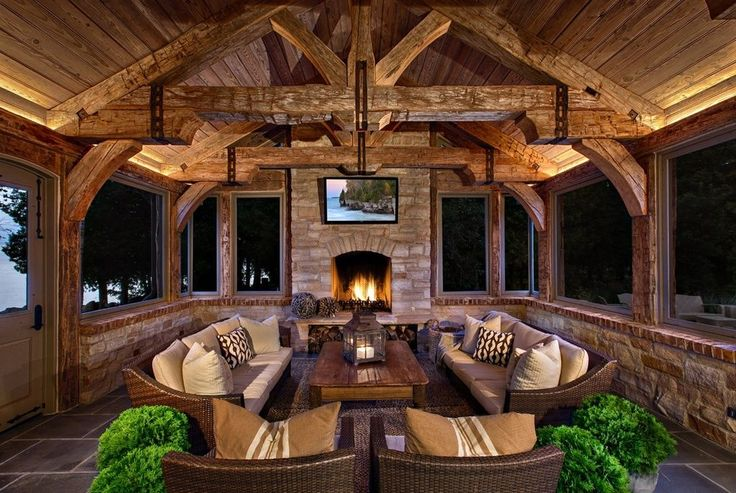 Best 25 Rustic Porches Ideas On Pinterest Country