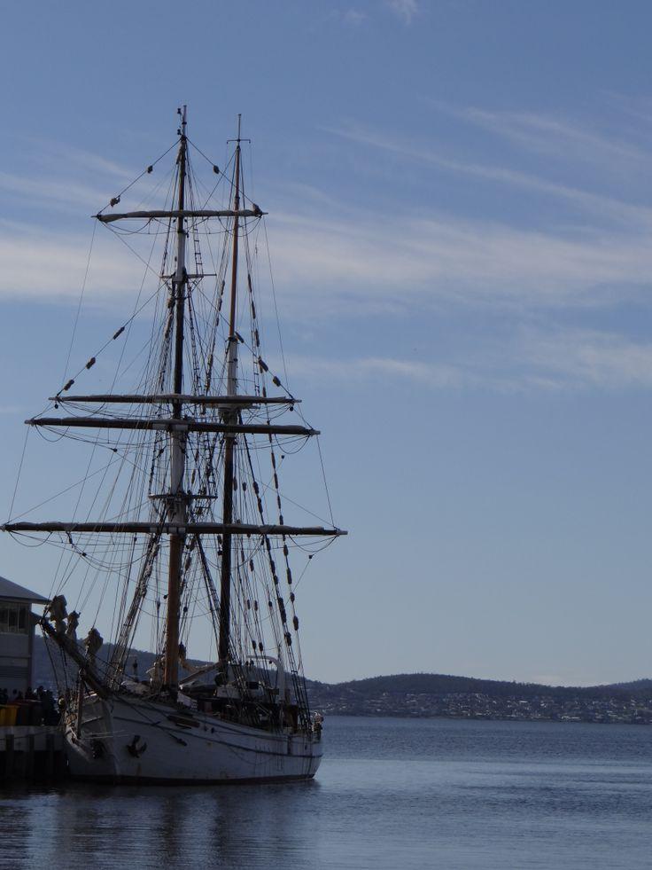 The 'Tall Ships' in Hobart - Tasmania