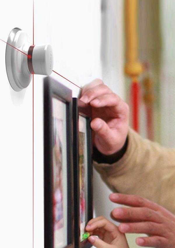 """""""LEVEL+"""" Cross line laser level meter Design on Industrial Design Served"""
