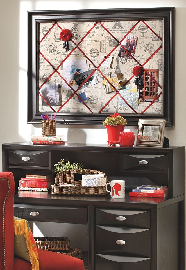 Diy Bulletin Board Sofa Mart Valentine Inspiration Pinterest Home Office And