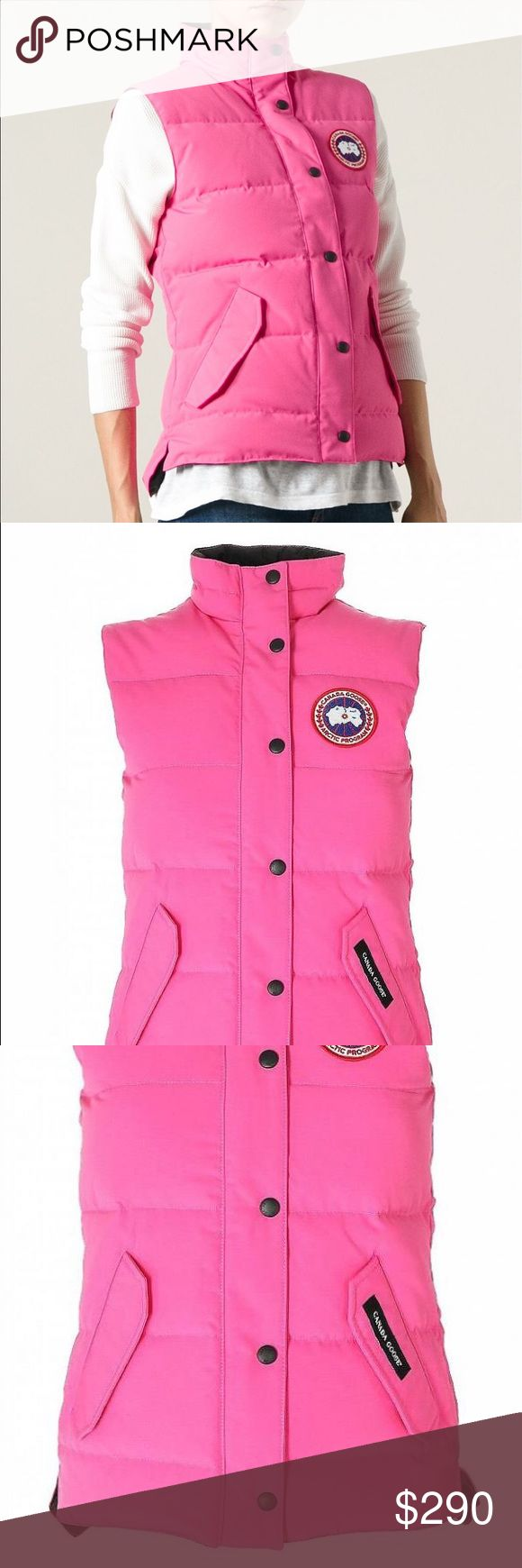 Canada Goose Freestyle Vest (pink) Size medium. Only worn a few times. Excellent condition Canada Goose Jackets & Coats Vests