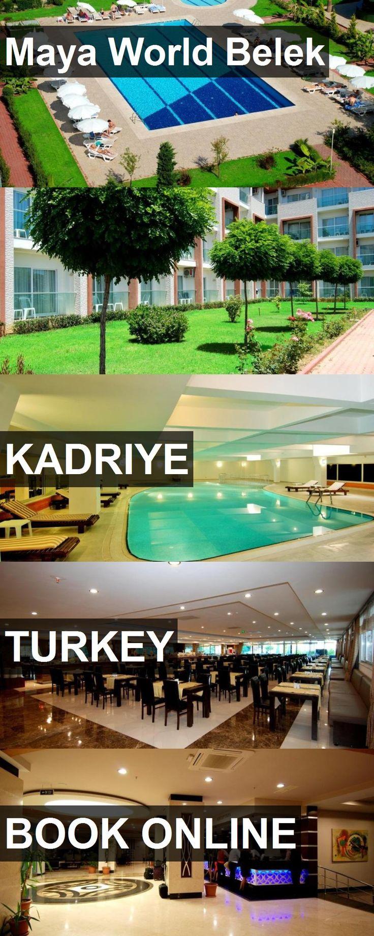 Hotel Maya World Belek in Kadriye, Turkey. For more information, photos, reviews and best prices please follow the link. #Turkey #Kadriye #hotel #travel #vacation