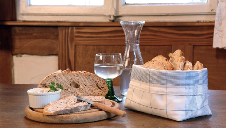 Brotbeutel aus Geschirrtuch