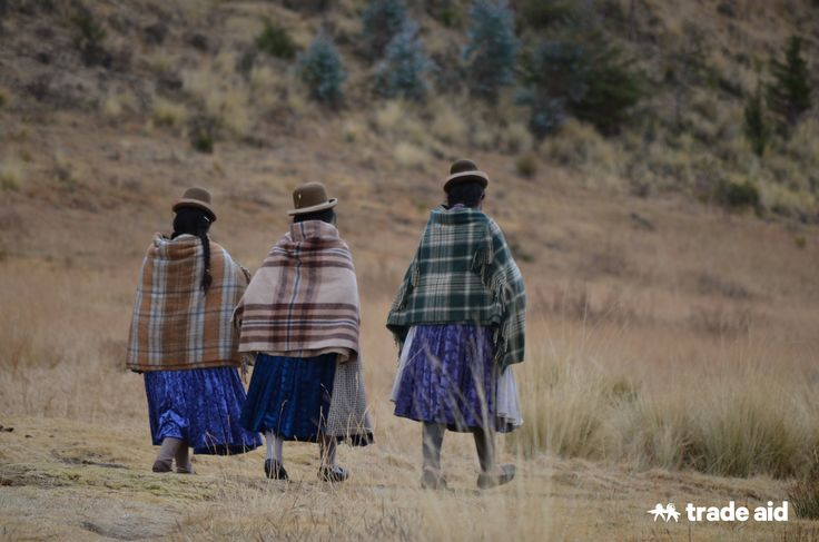 Peru - The sense of community and togetherness between all the women was so apparent - Fair trade - handmade change.