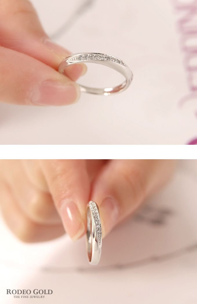 Gold engagement rings TCR81564