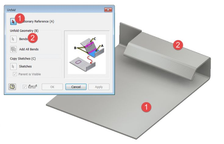 Wax On – Wax Off… Unfolding and Refolding with Inventor Sheet Metal