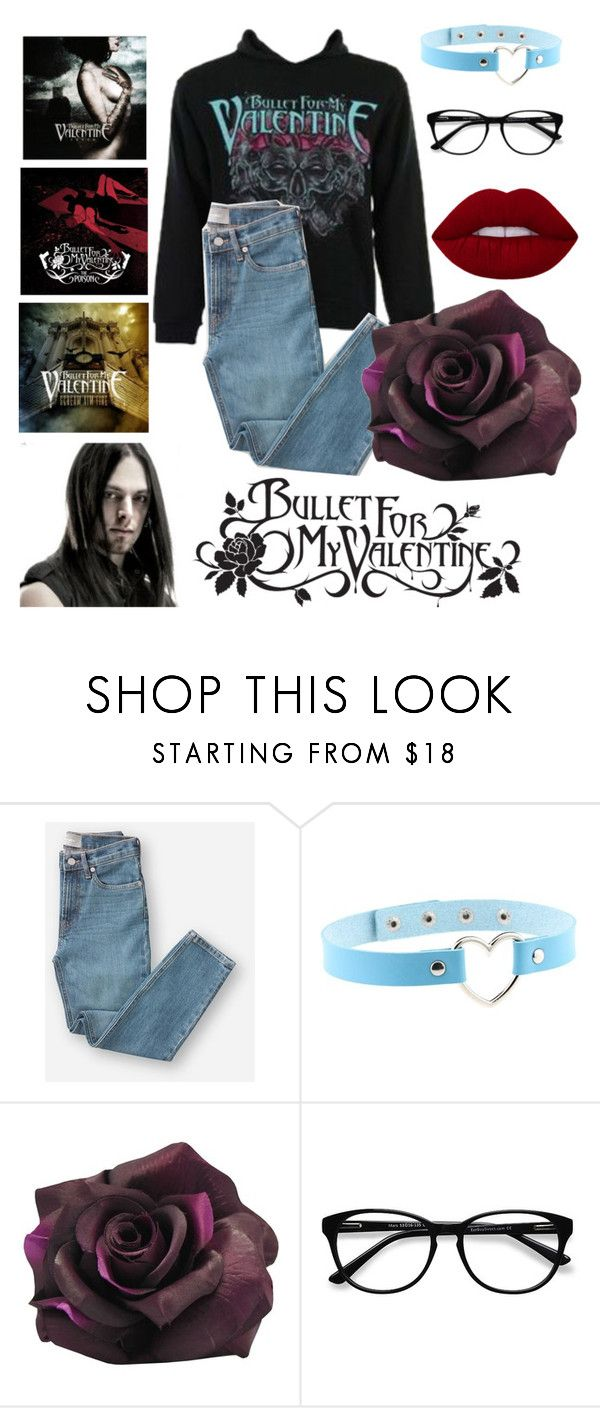 """Bullet For my Valentine"" by victoria-lynn-earp ❤ liked on Polyvore featuring Bullet, Everlane and EyeBuyDirect.com"