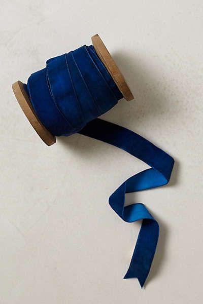 Anthropologie - Etoile Velvet Ribbon