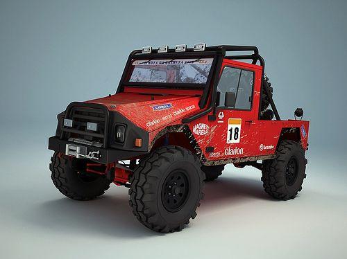 UMM Portuguese jeep