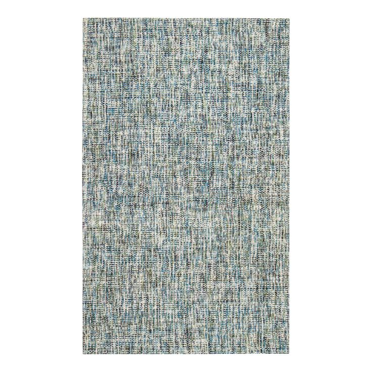 Jani Oshi Blue/Grey Wool Blend Rug - 8' x 10' | Overstock.com Shopping - The Best Deals on 7x9 - 10x14 Rugs