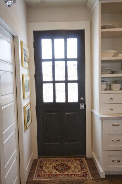 beforeafter my back door - Exterior Back Doors