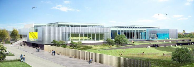 Bourgueil & Rouleau architectes - Centre aquatique intercommunal - Beaumont Sur Oise (95)