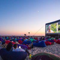 BeachFront Cinema at Huntington State Beach