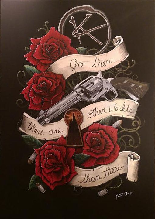 The Gunslinger by KChampionArtist on Etsy