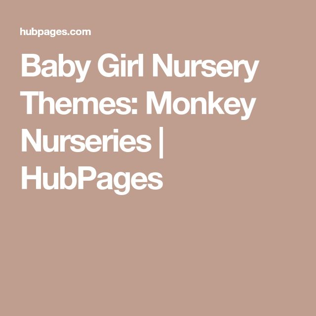 Baby Girl Nursery Themes: Monkey Nurseries | HubPages