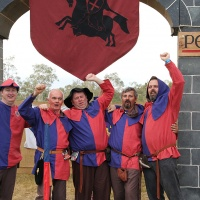 It's all about the Abbey Medieval Festival Volunteers