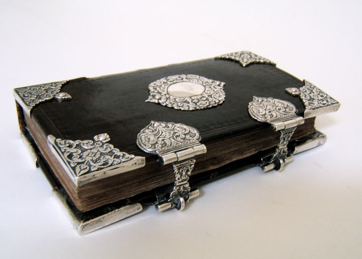Book of Psalms - 18th century  with Amsterdam-silver