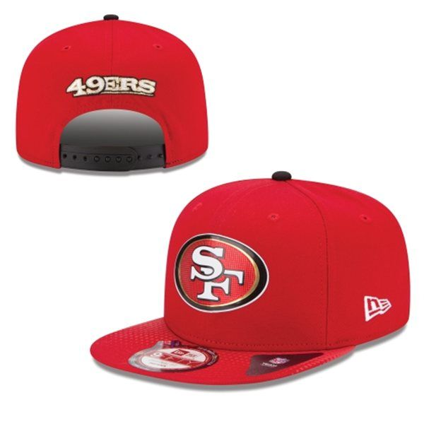NFL San Francisco 49ers Snapback Hats--xdf