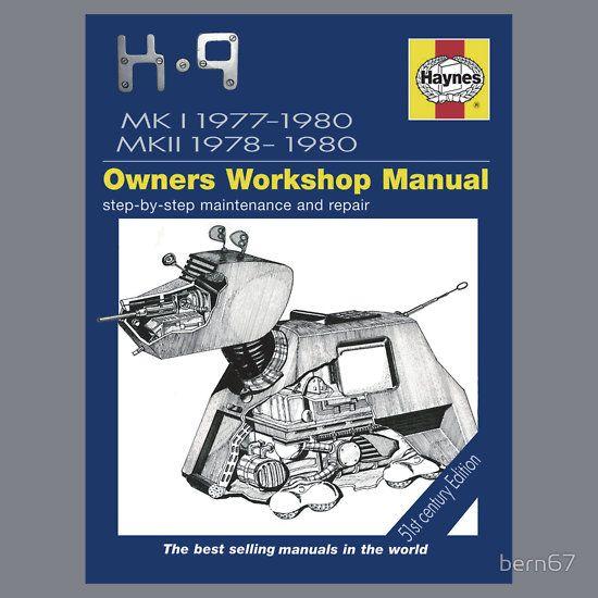 """""""K9 Haynes Manual"""" by bern67"""