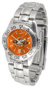 Oklahoma State Sport Anonized Women's Steel Band Watch SunTime. $64.95