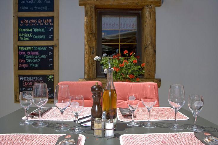 Restaurant Ovronnaz, terrasse