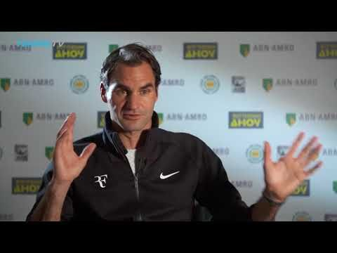 YouTube Roger Federer interview after reclaiming world  #1 Jan. 16th 2018