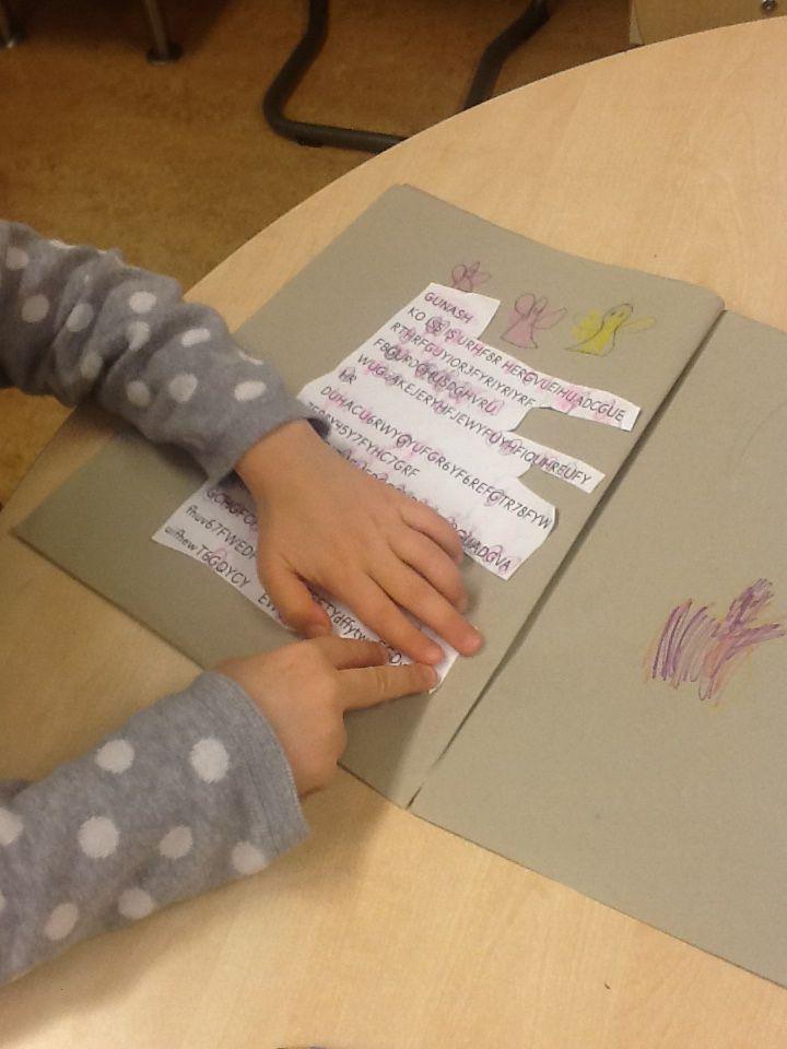 att skriva sig till läsning, #trageton #asl