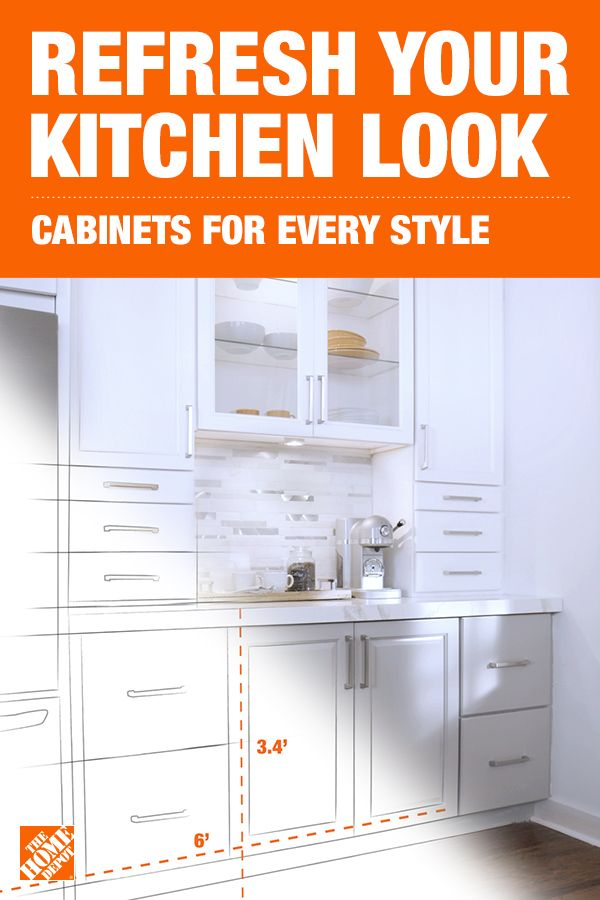 Transform Your Kitchen Cabinets With The Home Depot In 2020 Kitchen Plans Kitchen Remodel Kitchen Design
