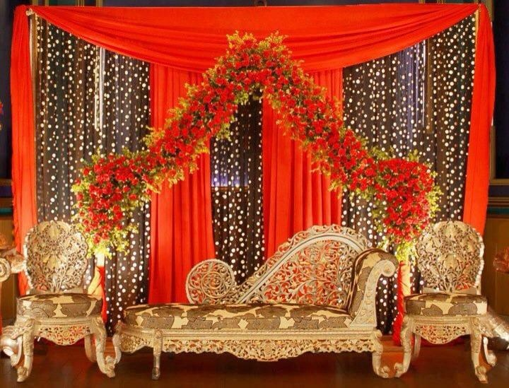 Mehndi Stage Background : Best queen images stage backdrops wedding